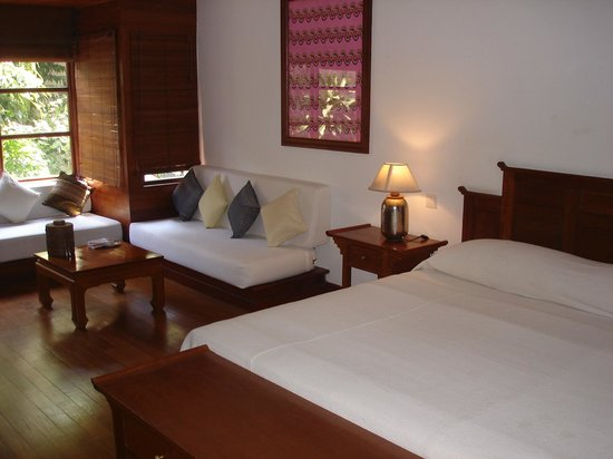 Belmond Governor's Residence : Master bedroom at Governor's Residence  suite in Yangon