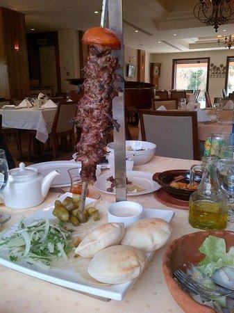 Levant: Angus beef shwarma