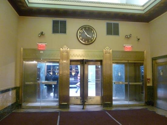 Hotel Edison Times Square : entrance