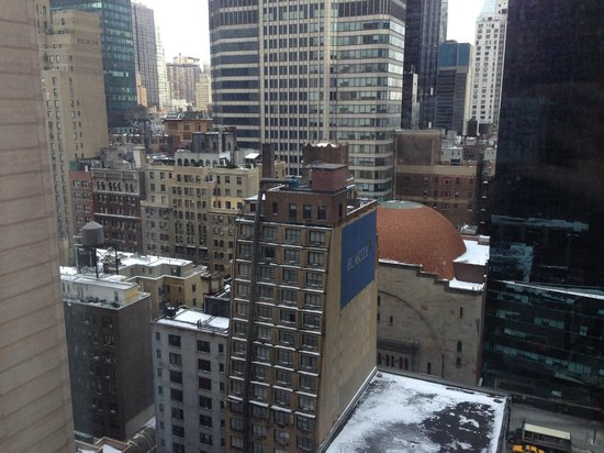New York Hilton Midtown: Vista 19º andar