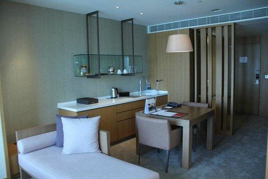 Millennium Hotel Taichung: 市政套房客廳