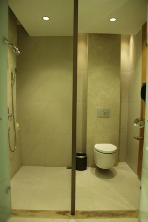 Millennium Hotel Taichung: 市政套房淋浴間&廁所