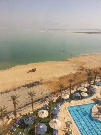 Crowne Plaza Dead Sea: Woke up to this!