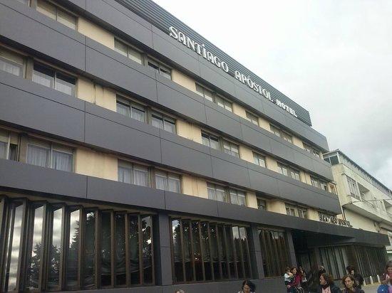 Hotel Santiago Apostol : Conforto e acolhedor