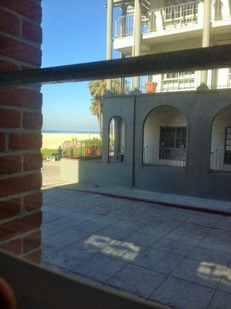 Venice Breeze Suites : View from bottom level room