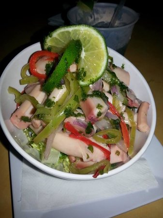 Punto de Vista Restaurant & Bar: Octopus Salad