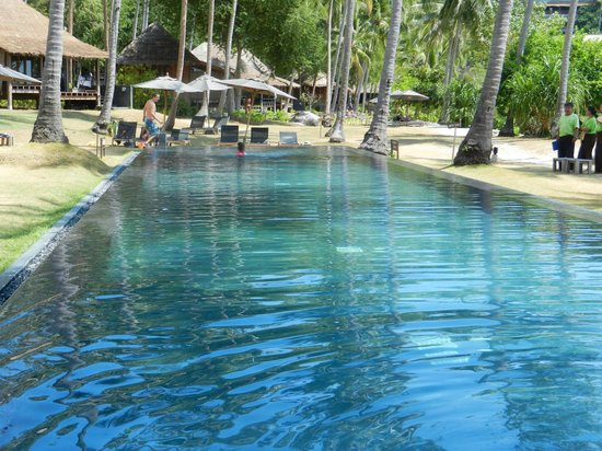 Haadtien Beach Resort: Swimming pool