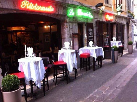 Restaurant La Mandoline: LaTerrasse