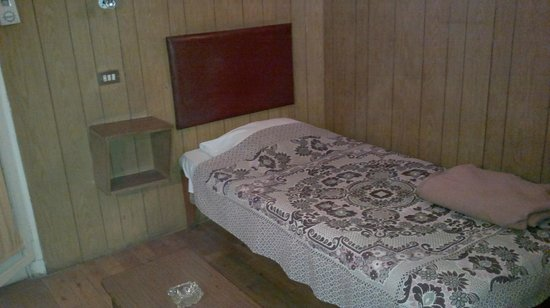 Pension Roma: bed