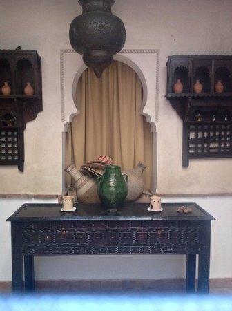 Riad Aladdin: Avlu