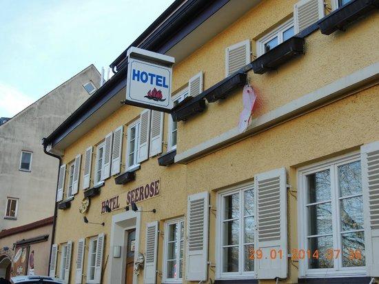 Hotel Seerose Lindau : Frente do hotel