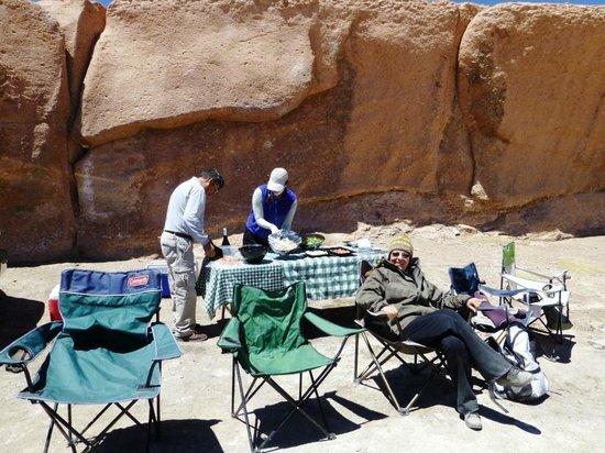 Explora Atacama - All Inclusive: Almoço em um dos passeios
