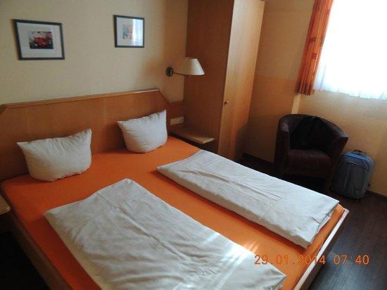 Hotel Seerose Lindau : apto casal