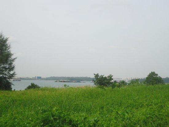 Singapore view from Pulau Ubin