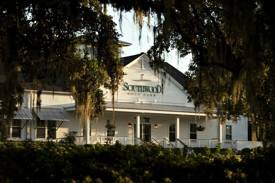 SouthWood Golf Club: the clubhouse
