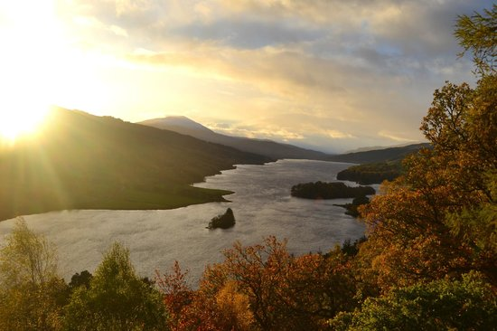 Knock Castle Hotel & Spa : Queen's View - Perthshire