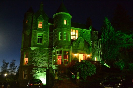 Knock Castle Hotel & Spa : Knock Castle at Night