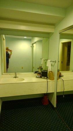Hilton Daytona Beach / Ocean Walk Village: Bathroom Sink