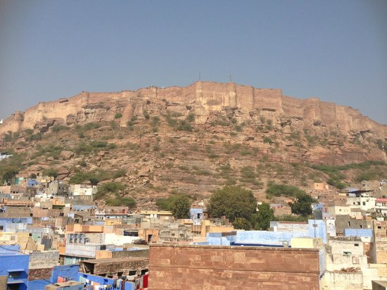 Heaven Guest House: View of Mehrangarh Fort
