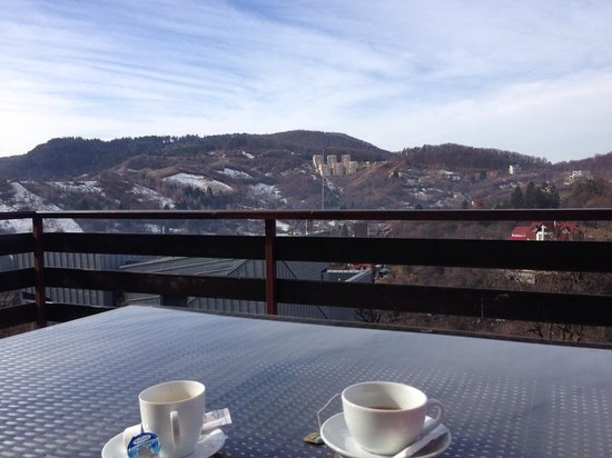 Pensiunea Toscana: The view