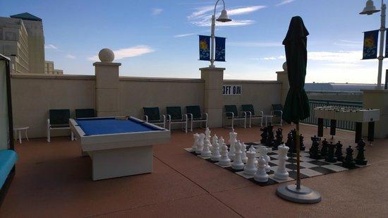 Hilton Daytona Beach / Ocean Walk Village: Pool Table Chess
