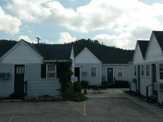 Black Hills Mile Hi Motel: Buitenkant