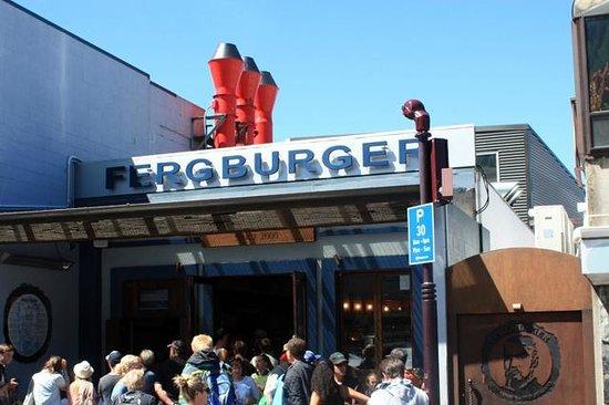 Fergburger : Entrance