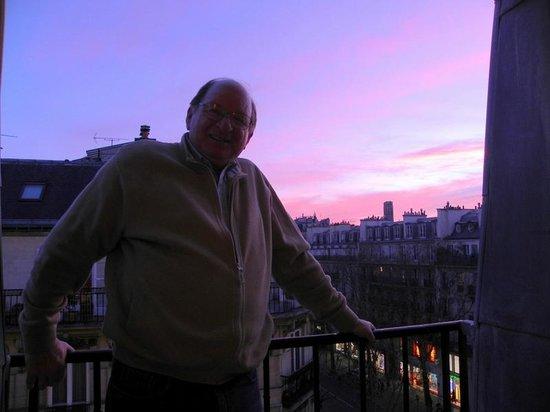 Hotel Royal Saint Michel: Sunset