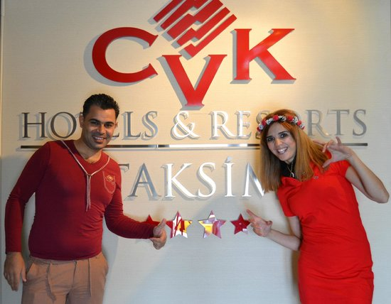 CVK Hotels Taksim : Lovely couple