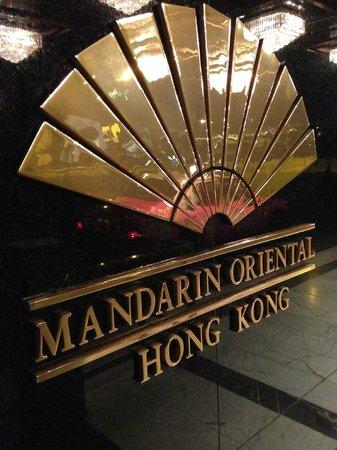 Mandarin Oriental, Hong Kong: mandarin oriental