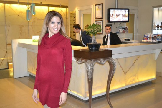 CVK Hotels Taksim : Reception