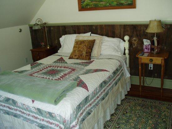 Antiqued Inn Time B&B: Pond room