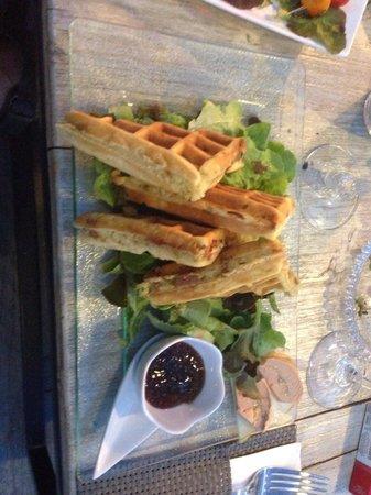L'instant t porto-vecchio : Fois gras au gaufre