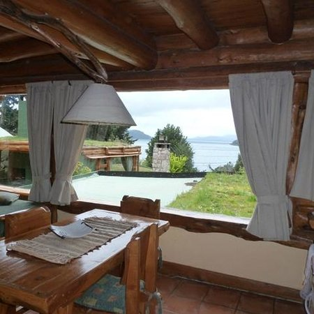 Cabanas La Deseada: vista desde el comedor