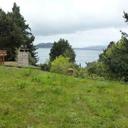 Cabanas La Deseada : vista desde la habitacion