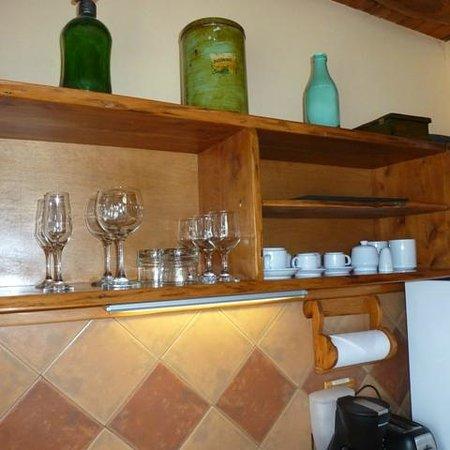 Cabanas La Deseada: cocina