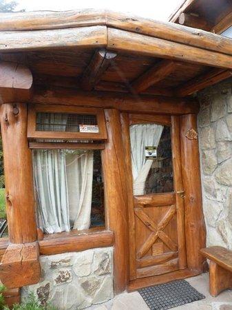 Cabanas La Deseada: entrada a nuestra cabaña