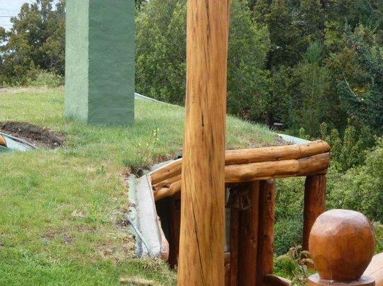 Cabanas La Deseada: techos de cesped