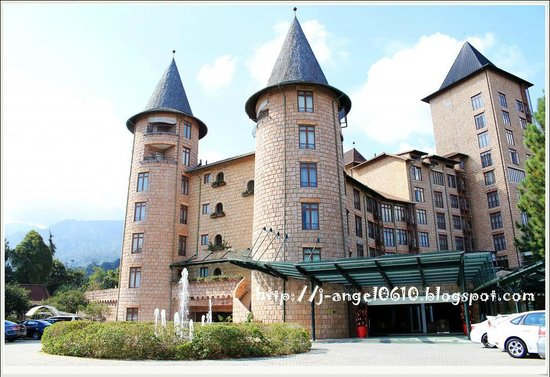 The Chateau Spa & Organic Wellness Resort: great view