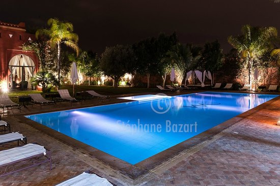 El Miria Palais Riad : La piscine Bleu marine