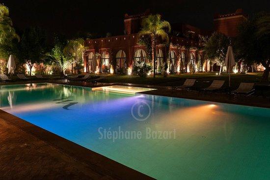 El Miria Palais Riad: La piscine en Bleu Turquoise