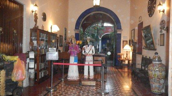 Hotel Hacienda Flamingos: Reception
