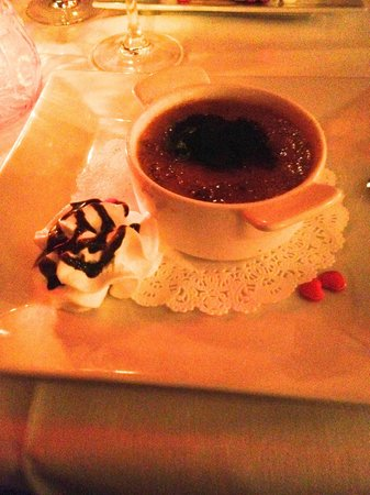 Peter's Europa House: creme brulle