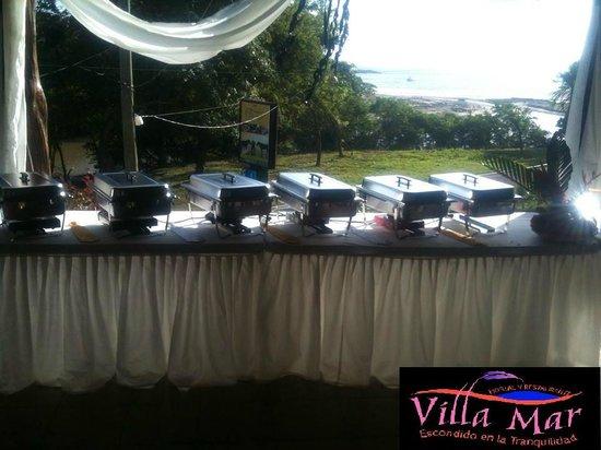 Hostal Villa Mar: Salon para eventos