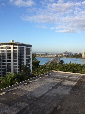 The Condado Plaza Hilton : view toward the right