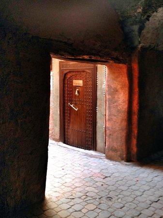 The Entrance to Riad Marrakiss
