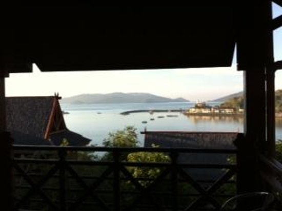Sari Village Holiday Homes: The view