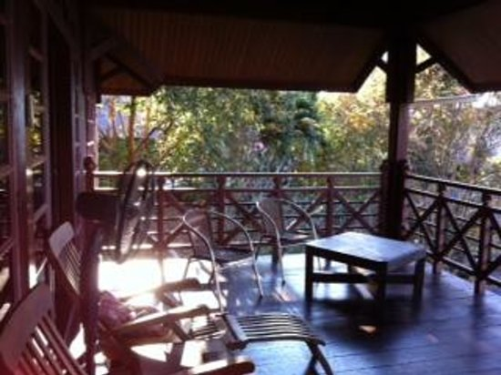 Sari Village Holiday Homes: Balcony