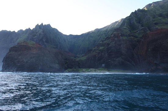 Na Pali Riders: Another shot of the coast