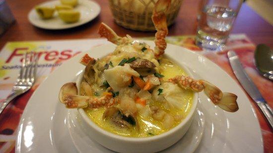 Fares Seafood : Суп с крабом
